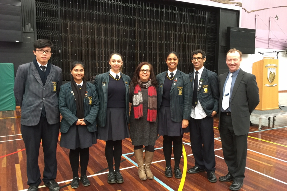 Launch of 2017 MAD day at St John's Regional college